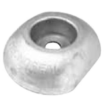 Aluminium roerblad anode 90mm 400gram TS-F