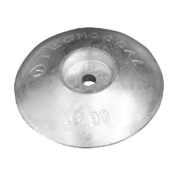 Aluminium roerblad anode 90mm  TS-F