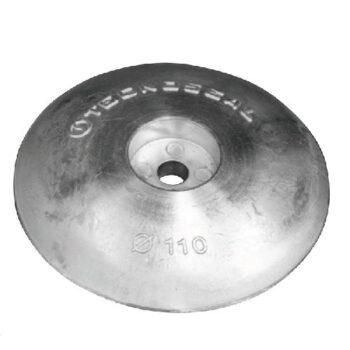 Aluminium roerblad anode 110mm  TS-F