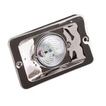 LED heklicht inbouw RVS 85x131mm 12volt   00146AAA.E