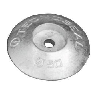 Aluminium roerblad anode 50mm  TS-F