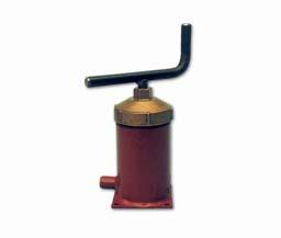 Vetpers met smalle cilinder 0