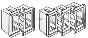 frame middenstuk voor inbouwschakelaar osc 14.197.21