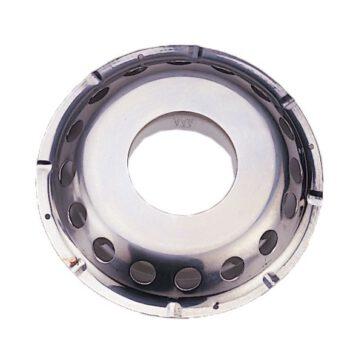 RVS Dekventilator met lichtdoorlaat   AAA.13509-E