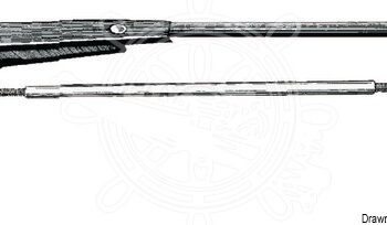 Ruitenwisserarm RVS 305-360mm OSC19.152.36.C