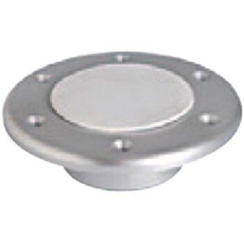 Inbouwvoet aluminium voor tafelpoot 150mm MD-D