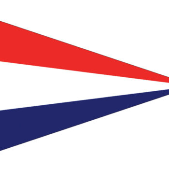 Nederlandse puntvlag 40x60cm LT.27.105.040.C