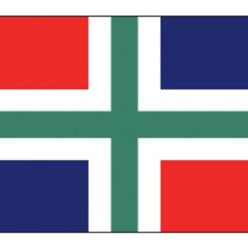 Groningse vlag 30x45cm LT.27.204.030.C