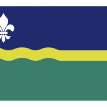 Flevolandse vlag 30x45cm LT.27.301.030.C