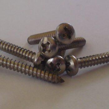 Plaatschroef cilinderkop