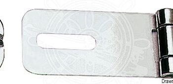 Overvalsluiting RVS 65x23mm OSC38.981.00.C
