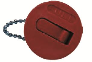 Ersatzdeckel mit Kette für Kraftstoff