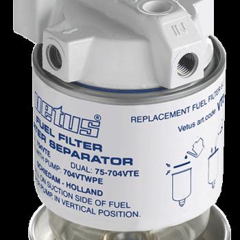 Brandstoffilter-waterafscheider 380 L/uur VE.340VTEB.C