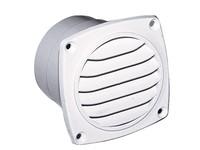 Kunststof ventilatierooster wit 94x94mm LT.78.337.093.B