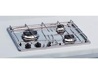 Eno RVS kooktoestel inbouwkomfoor (30 mb) 3-pits LT.90.418.2