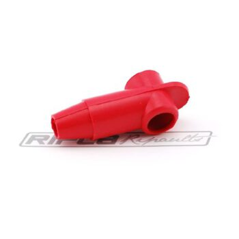 Afdekkap rond 18mm rood DG800218R E