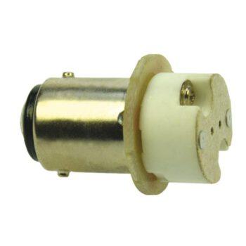 Led adapter Ba15D (dubbelpolig)