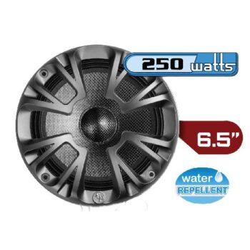 """Audiopipe 6"""" 250Watt Carbon speaker met beschermring"""