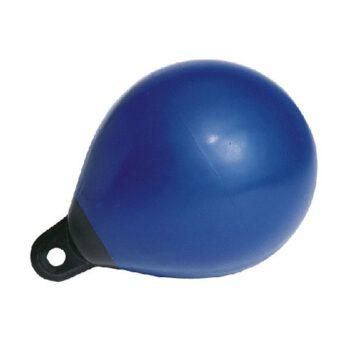 Massieve kopboei-balfender  diameter: 65cm blauw EX.0442.A