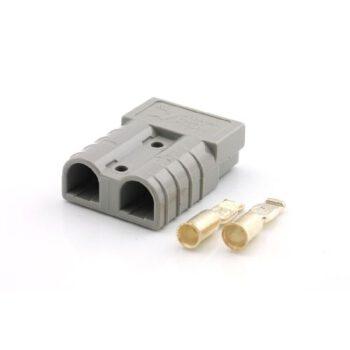 Batterijstekker voor elektramotoren 16mm² grijs DG.F