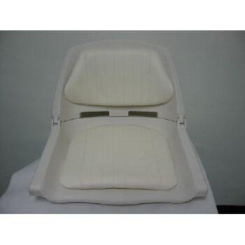Bootstoel-klapstoel met kussens wit EA.c12507-w.D