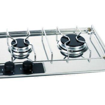 Eno RVS kooktoestel inbouwkomfoor (30 mb) 2-pits  LT.90.417.