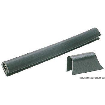 PVC profiel - stootlijst 20x30mm zwart OSC.44.482.00.C