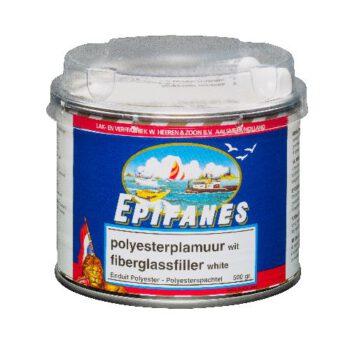 Epifanes Polyesterplamuur wit 500gr   EPI-B