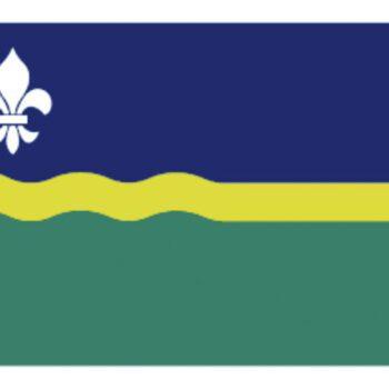 Flevolandse vlag 20x30cm LT.27.301.030.C