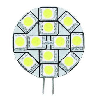 G4 Ledlamp met 12 SMD LED's warm wit 10-30volt AAA.E