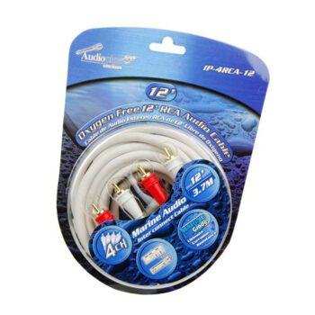 "Audiopipe 12"" 4-kanaals RCA marine kabel"