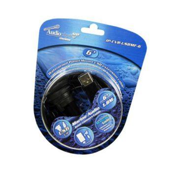 """Audiopipe 6"""" verlengkabel USB naar Tulp"""