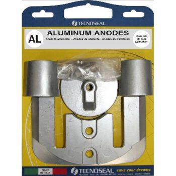 Aluminium anode pack Bravo II en III ALLP.017502.A