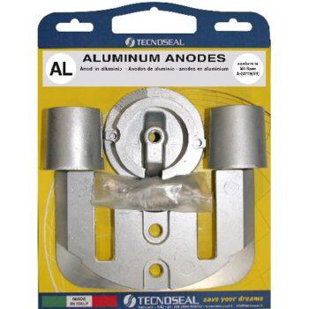 Aluminium anode pack Bravo I EX CMBRAVO1KITA