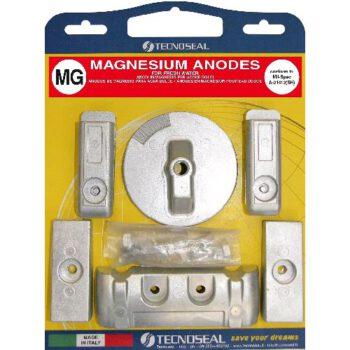 Magnesium anode pack Mercury Verado6  CN-E