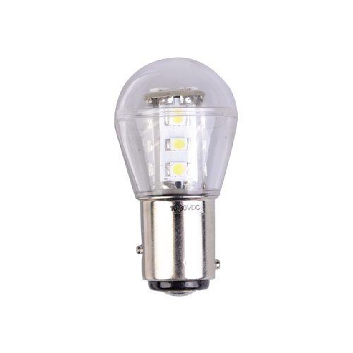 LED navigatielamp ongelijkzijdig 10-30volt BAY15D    LT.B