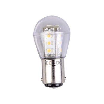 Ledlamp 10-30 volt dubbelpolig BA15D   LT.14340528.B