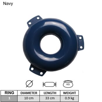 Anker ringfender donkerblauw LT79.125.031.A