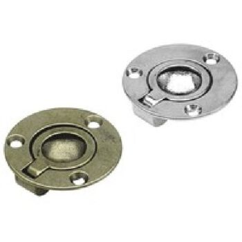 Messing luikring rond Diameter:53mm  FS.241A.L
