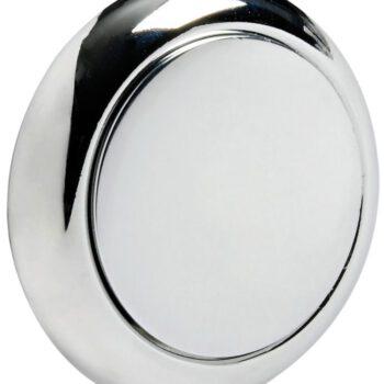Kunststof verchroomde knop en ring OSC.38.182.60.C