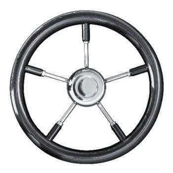 Stuurwiel 35cm carbonfiber T9  SV-E