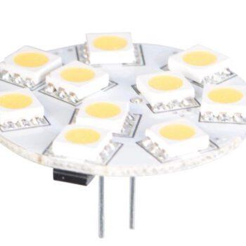 LED vervangingslamp met G4 achtermontage 10-30volt    LT.14.