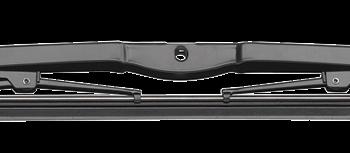 Vetus ruitenwisserblad rvs-zwart 41cm VE.WBB41.B.