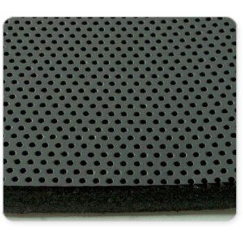 Absorbel geluidsisolatie 1m² 25mm dik antraciet .B