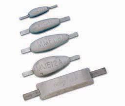 Aluminium anode MME 17A EX1739