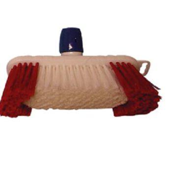 Luiwagen- borstel rilsan rood wit DL.GR005004.B