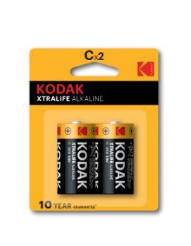 Kodak XTRALIFE Alkaline batterij - C