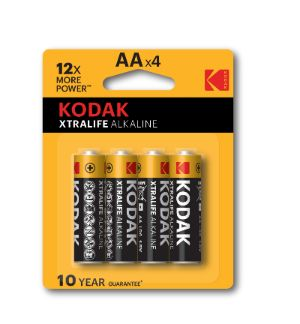 Kodak XTRALIFE Alkaline batterij - AA