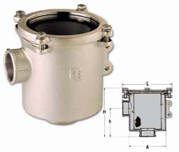 """Hollex koelwaterfilter type 3  - 2"""" EX3198A"""