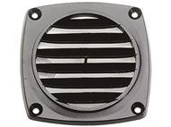 kunststof ventilatierooster inbouw zwart lt 78337094